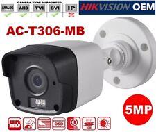 DS-2CE16H5T-ITE OEM 5MP Power Over Coax HD-TVI 2.8mm Bullet Security Camera
