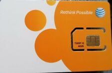 At&T Sim Card 3G/4G Lte Prepaid Go Phone Lte 4G Ready To Activate (93 available)
