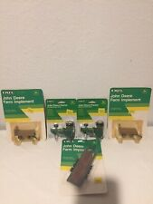 Ertl John Deere 1/64 Tractors & Farm Implements On Card #5516, # 2467, # 5557