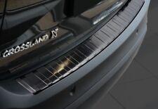 Original Irmscher Opel Crossland Ladekantenschutz Edelstahl schwarz