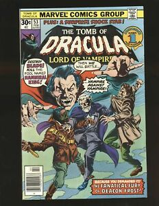 Tomb of Dracula # 53 - Blade cover NM- Cond.