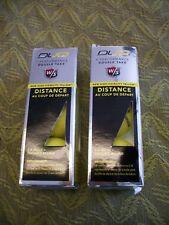 New Wilson Staff Duo Yellow Loose Golf Balls World'S Softest - 2 packs of 3