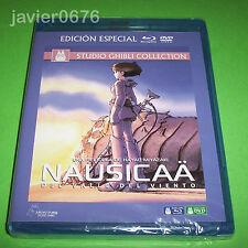 NAUSICAA DEL VALLE DEL VIENTO STUDIO GHIBLI BLU-RAY + DVD NUEVO Y PRECINTADO