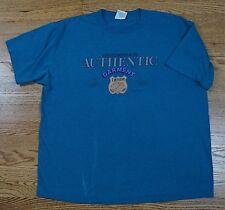a83044050482 Rare Vintage Levi Strauss   Co Denim Garment Shield 90s Spell Out Tee Shirt  Xl