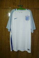 England Nike Football Shirt Home 2016/2017/2018 Soccer Jersey Men Size 2XL XXL
