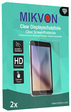 2x Mikvon Clear Screen Protector for Lenovo Moto G5 Plus Retail Package