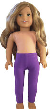 """Plum Purple Leggings for 18"""" American Girl Doll Clothes Exclusive"""