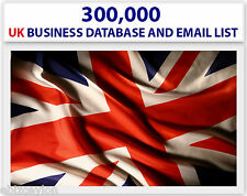 BUY 300 000(300K) ACTIVE UK EMAIL LIST AND DATABASE FOR EMAIL MARKETING.