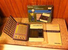 Vintage Radio Shack LCD Computerized Championship Golf Handheld Electronic Game