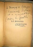 °Dédicace à Dunoyer de Ségonzac sur EO - LACRETELLE: La Bonifas, 1925
