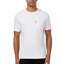Ben Sherman Chest Pocket Short Sleeve T-Shirt White