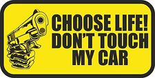 CHOOSE LIFE  Decal Vinyl JDM RACING DRIFT car sticker -  #J-16