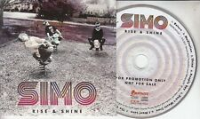 SIMO Rise & Shine 2017 Dutch 11-track promo CD + press release