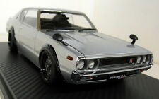 Ignition Model 1/18 Scale 0746 Nissan Skyline 2000 GT-R KPGC110 Silver Resin car