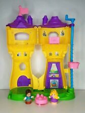 Fisher-Price Little People Disney Princess Rapunzel Tower Flynn Rider