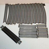 Atlas Ho Scale Train Track Lot(22 Pieces) #21 #33 #44 #45 #521 #835 Brass Silver
