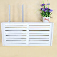 Wifi Router Storage Box Cable Organizer Case Wall Mounted Hanging Bracket Large