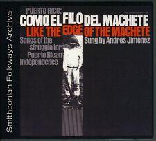Andres Jiminez - Puerto Rico: Como El Filo Del Machete [New CD]