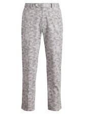 Ralph Lauren Mens Polo Golf Grey Camo Microfiber Stretch Recovery Pants New
