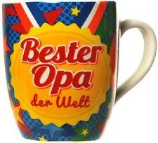 Becher Bester Opa der Welt Porzelan Kaffeebecher
