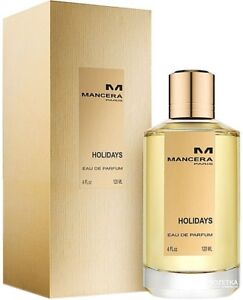 Mancera HOLIDAYS 120 ML, 4 fl.oz unisex EDP, Eau De Parfum. New n Box