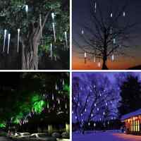 LED Fairy String Lights Meteor Shower Tube Home Outdoor Party Lamp Wedding Decor