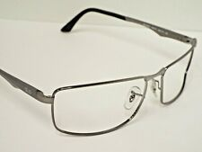 Authentic Ray-Ban RB 3498 004/71 Gunmetal Black Sunglasses Frame $193