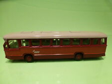 LION CAR TOYS 38  DAF CITYBUS - GVU - RED 1:50 - VERY GOOD CONDITION