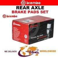 BREMBO Rear Axle BRAKE PADS SET for MERCEDES BENZ SL 350 2008-2012