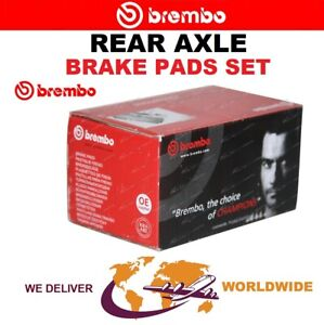 BREMBO Rear Axle BRAKE PADS SET for HONDA (GAC) CITY 1.5 2008-2015