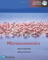 NEW 3 Days to US / CA Microeconomics 8E Jeffrey M. Perloff 8th Paperback Edition