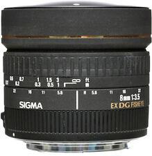 Sigma 8mm f/3.5 EX DG Circular Fisheye Autofocus Lens - Canon Fit