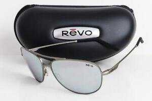 NEW REVO WINDSPEED POLARIZED SUNGLASSES Gunmetal frame / Stealth Mirror lens