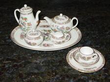 WEDGWOOD KUTANI CRANE MINI / MINIATURE 11 PIECE TEA / COFFEE SET NEW