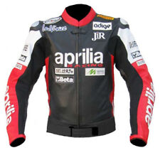 Aprilia motorbike, motorcycle racing leather jacket