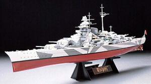 Tamiya Model kit 1/350 German Battleship Tirpitz
