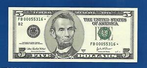 2003A CHCU $5 STAR NOTE NEW YORK DISTRICT ONLY 640000 PRINTED
