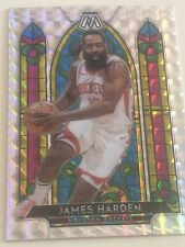 New ListingJames Harden 2019/20 Panini Mosaic Stained Glass #5 Silver Wave Mosaic Ssp