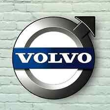 LOGO AUTO VOLVO 2ft GRANDE Garage Segno Piastra a parete v50 s60 s40 s80 xc60 xc90 t5