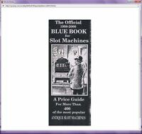 Official Blue Book Antique Slot Machines Price Guide