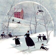 WINTER FROLIC - Pat Buckley Moss - Ltd. Ed. Print