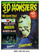 3-D Monsters © 1964 Flair Publishing with Glasses