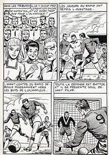 FINALE DE COUPE FOOTBALL (ROBERT HUGUES) PLANCHE ORIGINALE PILAR SANTOS PAGE 31
