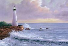 SEASCAPE ART PRINT - Eternal Light by Diane Romanello Lighthouse Poster 28x38