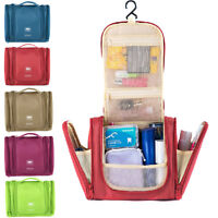 Hanging Deluxe Travel Makeup Case Toiletry Cosmetic Wash Bag Purse Organizer