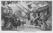 Chantecler Play Chickens Act 1 Real Photo Antique Postcard J54552