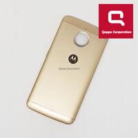 Motorola E4 Plus (XT1771) - Genuine Back Battery Cover Gold - Grade C Fast P&P