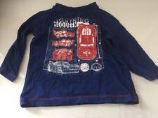 Disney Cars Top T-shirt 1-1 1/2 Years Used Cute Lightning Mcqueen Baby Boy Pixar