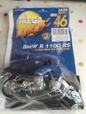 BMW R 1100 RS 1:18 Motorcycle Model with Stand Hachette Mega Bikes