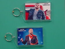 Justin Timberlake - with 2 Photos - Designer Collectible Gift Keychain 04
